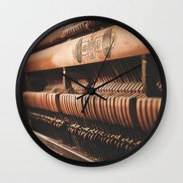 musical hammers Wall Clock