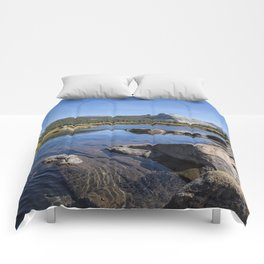 Tuolumne River and Meadows, No. 1 Comforters