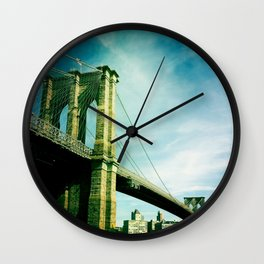 Brooklyn Bridge Wall Clock