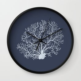 Faded Coral Wall Clock