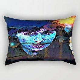 Stars and Boulevards Rectangular Pillow