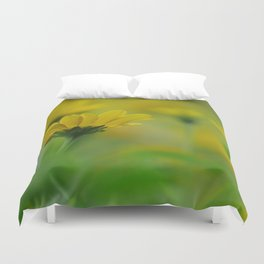 Blurs of Summer Duvet Cover