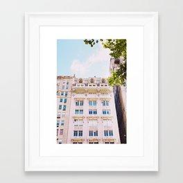 Upper West Side Framed Art Print