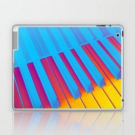 Heat Piano. Fashion Textures Laptop & iPad Skin