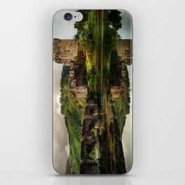 Landscape with an old castle iPhone Skin