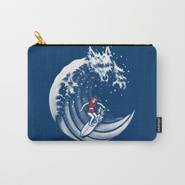 Little Red Surfing Hood Carry-All Pouch