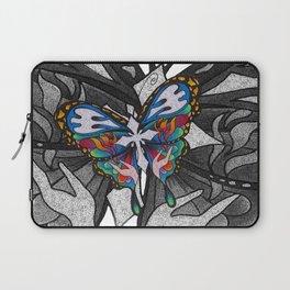 Christianity Themed Butterfly Art Laptop Sleeve