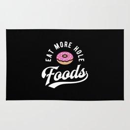 Eat More Hole Foods - Pink Donut Rug