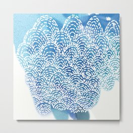 Clam Shell Metal Print