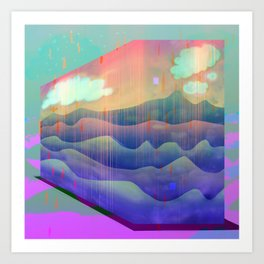 Sea of Clouds for Dreamers Art Print