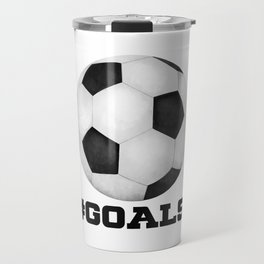 #Goals Travel Mug