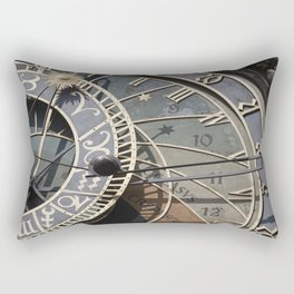 Astronomical clock Prague Rectangular Pillow