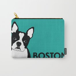 Boston In Abstract Carry-All Pouch