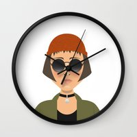 leon Wall Clocks featuring MATHILDA - LEON by Capitoni