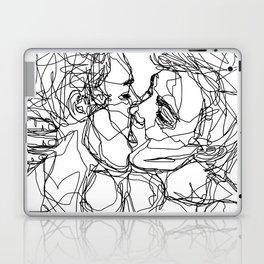 Boys kiss too Laptop & iPad Skin