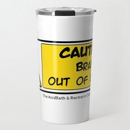 Brain out of Order Travel Mug