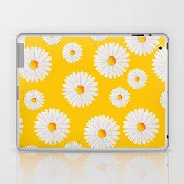 Yellow Daisy Repeat Laptop & iPad Skin