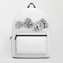White Pine Cones Backpack