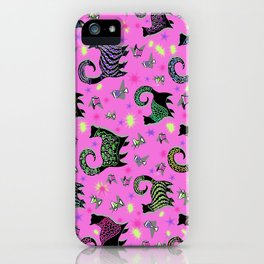 Fabulous Snobby Cats 3 iPhone Case