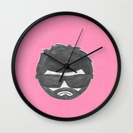 moody git Wall Clock