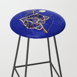 Egyptian Blue :: Orchid Bar Stool