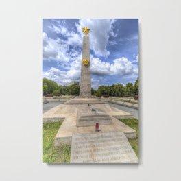 Russian World War 2 Memorial Budapest Metal Print
