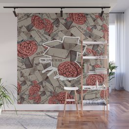 Think Outside The Box Color Wall Mural