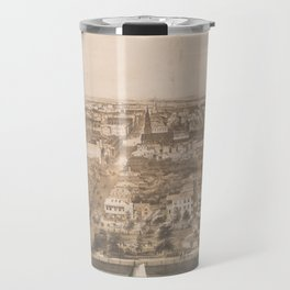 Vintage Pictorial Map of Charleston SC (1851) Travel Mug