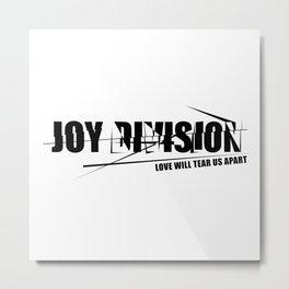 Rock graphic art - 80s alternative band - JOY DIVISION Metal Print