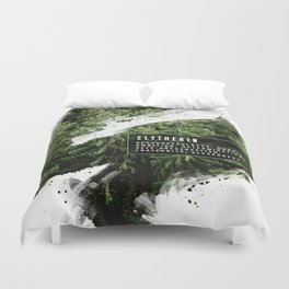 Slytherin Nature Duvet Cover