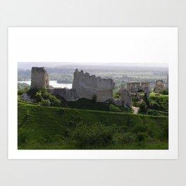 Castle Ruins Art Print
