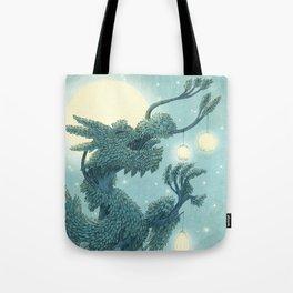 The Night Gardener - The Dragon Tree, Night Tote Bag