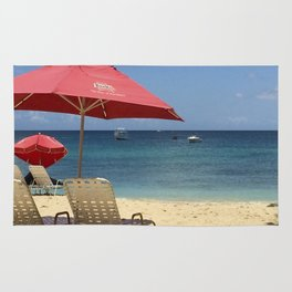 Barbados Beach Day Rug