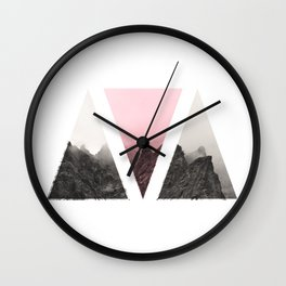 Pieces of rock Wall Clock