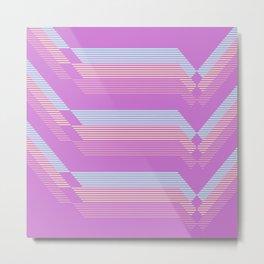 Pastel pattern Metal Print