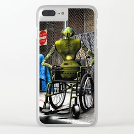 Will Work For Energy Clear iPhone Case