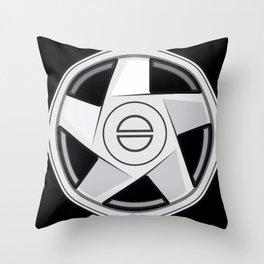 Wheel Design Volvo Hydra Throw Pillow