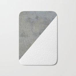 Concrete Vs White Bath Mat