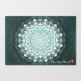 Mandala - Open Your Mind Canvas Print