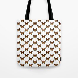 Monarch Butterfly Pattern Tote Bag