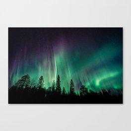 Aurora Borealis (Heavenly Northern Lights) Canvas Print