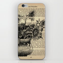 Pride & Prejudice, Chapter XLIII: Sunflowers iPhone Skin