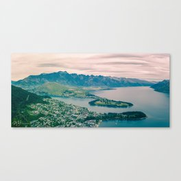 Qu eenstown and the Remarkables Canvas Print