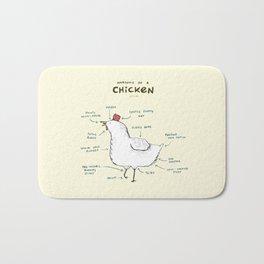Anatomy of a Chicken Bath Mat