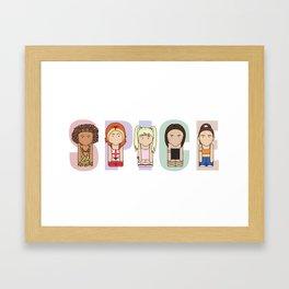 Spice Girls Framed Art Print