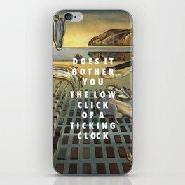 Don't Disintegrate iPhone Skin