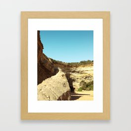 Great Ocean Road Rock Formation Framed Art Print