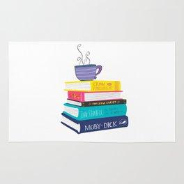 Lover of books Rug