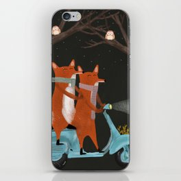 the fox mobile iPhone Skin