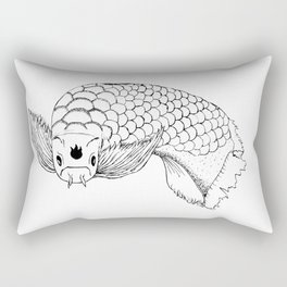 Dragon Fish Rectangular Pillow